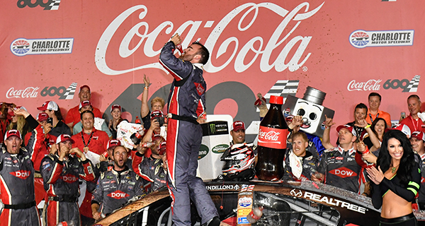 Austin Dillon Wins the Coca-Cola 600