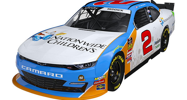 Nationwide Children's Hospital and Richard Childress Racing Team Up in 2019