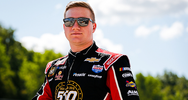Tyler Reddick Promoted by RCR to the No. 8 Caterpillar Chevrolet Camaro ZL1 for the NASCAR Cup Series for 2020